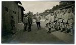 Francis Eustachius Fronczak instructs military doctors.