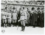 Jozef Haller alongside his men