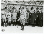 Jozef Haller alongside his men by The Francis Fronczak Collection