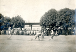 Military display on the sport of fencing. by The Francis Fronczak Collection