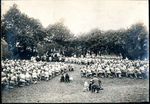 Field Mass, kneeling. by The Francis Fronczak Collection