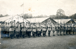 Army at attention. by The Francis Fronczak Collection