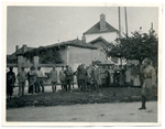 Saluting Jozef Haller in Trances, France by The Francis Fronczak Collection