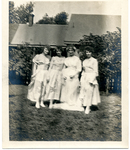 A bride with her bridesmaids by The Francis Fronczak Collection
