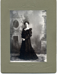 Lucy Rosalie (Lucja Rozalia) Fronczak in a black dress by The Francis Fronczak Collection