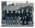 Six men wedding party (1) by The Francis Fronczak Collection