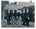 Six men wedding party (2) by The Francis Fronczak Collection
