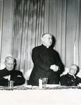 E. Bartoszewski with a priest and Francis Eustachius Fronczak. by The Francis Fronczak Collection