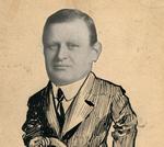 Cartoon of Francis Eustachius Fronczak by The Francis Fronczak Collection