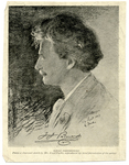 Ignaz Paderewski from a charcoal sketch by Mr. Emil Fuchs by The Francis Fronczak Collection