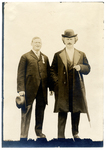 Dr. Francis Eustachius Fronczak with Ignacy Jan Paderewski by The Francis Fronczak Collection