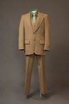 Men's Tan Suit by Buffalo State Fashion And Textile Technology Department