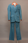 Men's Three-Piece Denim Suit