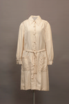 Beige Coat Dress by Buffalo State Fashion And Textile Technology Department