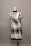Black and White Dress by Buffalo State Fashion And Textile Technology Department