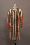 Striped Knit Dress by Buffalo State Fashion And Textile Technology Department