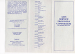 AIDS Service Providers Consortium of Western New York Pamphlet