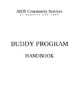 Buddy Program Handbook by AIDS Community Services of Western New York