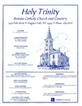 Church Bulletins; 1990-2008 by Holy Trinity Roman Catholic Church and Cemetery