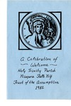Events and Activities; Feast of Assumption; 1982 by Holy Trinity Roman Catholic Church and Cemetery