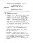 Church Closure; Dissolution Plan; 1992