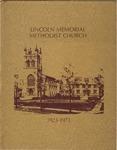1923-1973; Church Books; Lincoln Memorial United Methodist Church