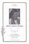 1992-07-25; Pamphlets; Anna Laura Evans