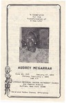 1993-02-01; Pamphlets; A Celebration for the Transformation of A New Life Audrey McGarrah