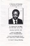 1993-04-10; Pamphlets; Dr. Edmund A W Millet