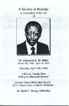 1993-04-10-Pamphlets; A Service of Worship