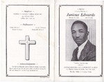 1993-06-29; Pamphlets; A Service In Loving Memory of Junius Edwards