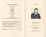 1996-01-03; Pamphlets; In Loving Memory of Ruby Z Watts