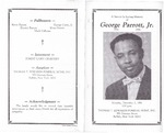 1996-12-02; Pamphlets; A service In Loving Memory of George Parrott Jr