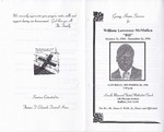 1996-12-28; Pamphlets; Going Home Service for William Lawrence McMullen Bill