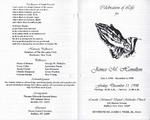 1998-12-11; Pamphlets; Celebration of Life for James M Hamilton