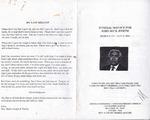 2000-07-21; Pamphlets; Funeral Service for John Beck Joseph