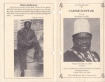 2000-12-15; Pamphlets; In Loving Memory of Caesar Scott Jr