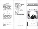 2002-02-27; Pamphlets; If tomorrow Starts Without Me Henry Hank Worrell