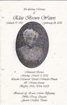 2002-03-11; Pamphlets; In Loving Memory of Elsie Brown Waters