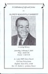 2005-02-05; Pamphlets; A Celebration of Life and Service for Alfred Roosevelt Jarrett