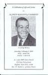 2005-02-05; Pamphlets; A Celebration of Life and Service for Alfred Roosevelt Jarrett