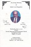 2005-06-22; Pamphlets; In Loving Memory of Robert Lee Shropshire