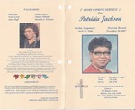 2007-12-01; Pamphlets; Homecoming Service for Patricia Jackson