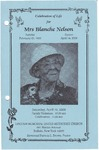 2008-04-19; Pamphlets; Blanche Nelson