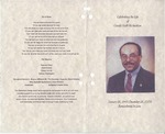 2009; Pamphlets; Celebrating the Life of Gerald Keith Richardson by Lincoln Memorial United Methodist Church