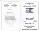 2013-03-09; Pamphlets; Alfred Stanley Nichols