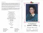 2013-05-15; Pamphlets; In Loving Memory of Juanita C DeBerry
