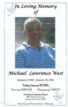 2016-01-22; Pamphlets; In Loving Memory of Michael Lawrence West by Lincoln Memorial United Methodist Church
