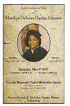 2017-05-06; Pamphlets; Celebration of Life for Marilyn Delores Hyche Johnson by Lincoln Memorial United Methodist Church