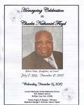 2017-11-15; Pamphlets; Homegoing Celebration for Charles Nathaniel Floyd